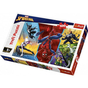 100 PC Puzzle Spiderman Toys Not specified