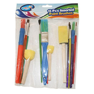 15pc Paint Brushes Toys Not specified