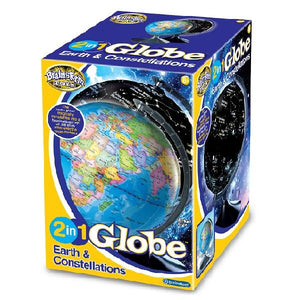 2 in 1 Globe Earth & Constellations Toys Brainstorm
