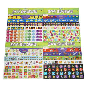 300 Stickers Toys Not specified