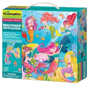 3D Puzzle Mermaid Toys 4M