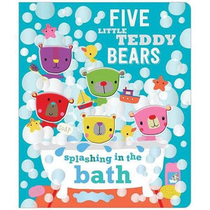 5 Faces Board - Five Little Teddies Toys Not specified