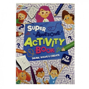Activity Book - 72 Sheet Stationery Not specified