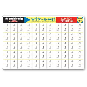 Addition Problems Write-A-Mat Toys Melissa & Doug