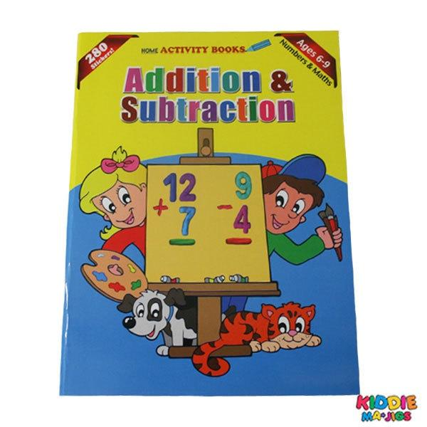 Addition & Subtraction Book