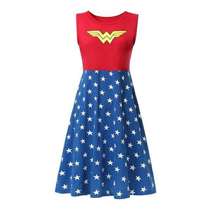 Adult Wonder Woman Dress Dress Up Not specified