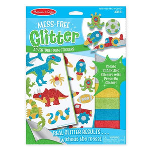Adventure Foam Stickers - Mess Free Glitter Toys Melissa & Doug