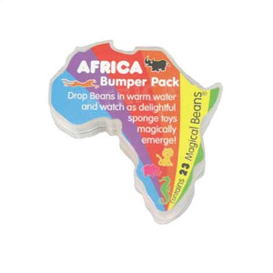 Africa Bumper Pack Toys Bean People