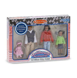 African American Victorian Doll Fam Toys Melissa & Doug