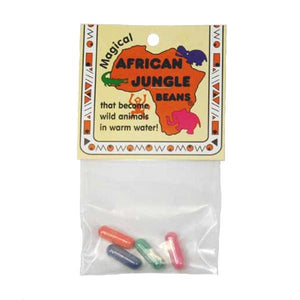 African Jungle Bath Beans Toys Bean People