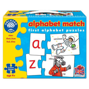 Alphabet Match Puzzle Toys Orchard Toys