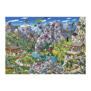Alpine Fun 1000Pc Toys Heye