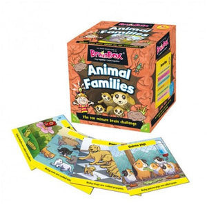 Animal Families Brainbox Toys Brain Box