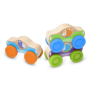 Animal Stacking Cars Toys Melissa & Doug