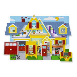 Around the House Sound Puzzle Toys Melissa & Doug