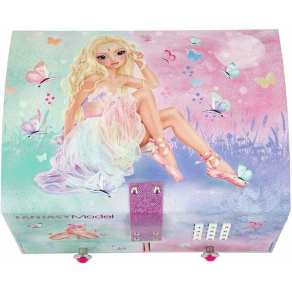 Ballerina Big Jewellery Box with Code