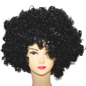 Black Afro Wig Dress Up Not specified
