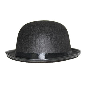 Black Bowler Hat Dress Up Not specified