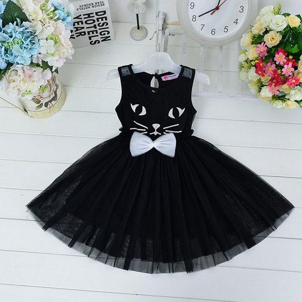 Black Cat Dress