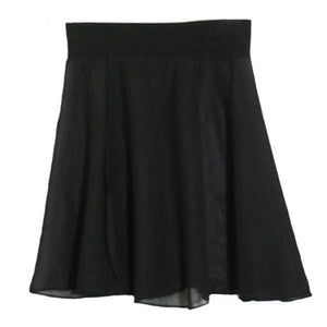 Black Chiffon Skirt Ballet Not specified