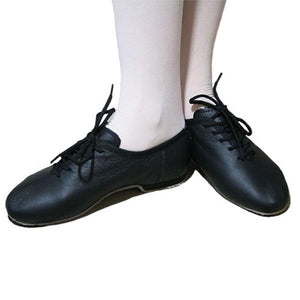 Black Leather Modern / Jazz + Heel Ballet Not specified