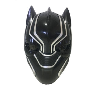 Black Panther Light Up Mask Dress Up Not specified