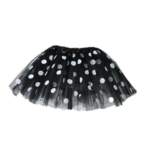 Black Polka Dot Tutu Skirt (Age 3-6) Dress Up Not specified