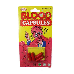 Blood Capsules Dress Up Not specified