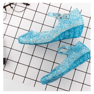 Blue Princess Shoes Dress Up Not specified