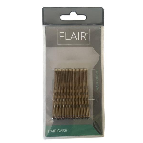 Bronze Hair Grips Large