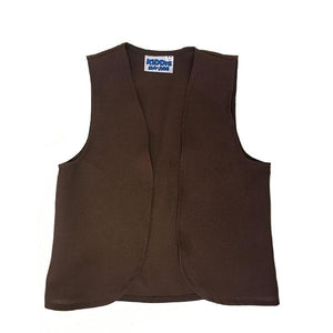 Brown Waistcoat New Dress Up Not specified