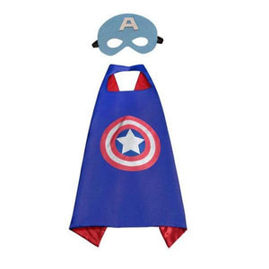 Captain America Cape & Mask Dress Up Not specified