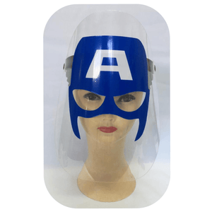 Captain America Face Shield Clothing Not specified