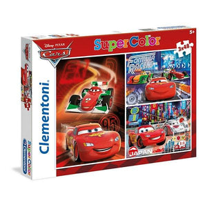 Cars 3x48pc Toys Not specified