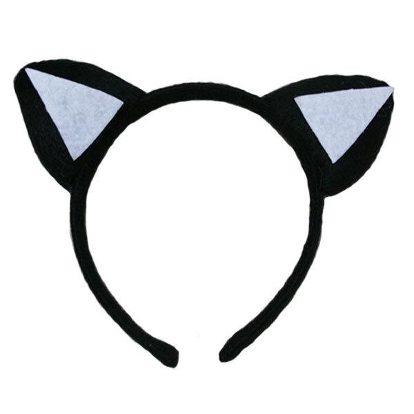 Cat Ears Black + White