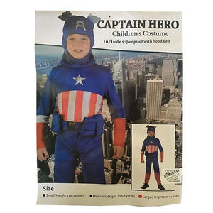 Children's Captain America Costume Dress Up Not specified