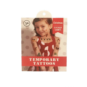 Christmas Temporary Tattoos Dress Up Not specified