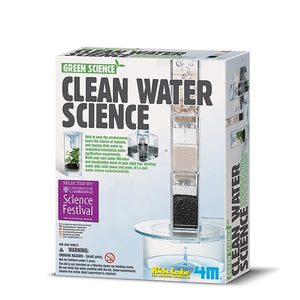 Clean Water Science Toys 4M
