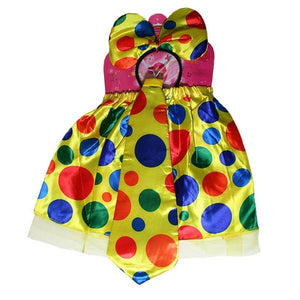 Clown Set Girl (Age 3-6) Dress Up Not specified