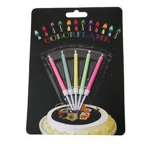 Colour Flame Candle Parties Not specified