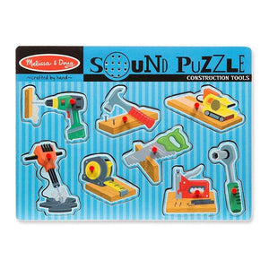 Construction Tools Sound Puzzle Toys Melissa & Doug