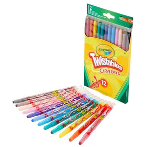Crayola 12 Twistable Crayons Stationery Crayola