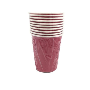 Dark Pink Paper Cups Parties Not specified