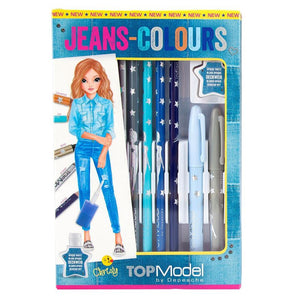Jeans Colours Pen Set