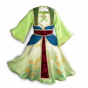 Deluxe Mulan Dress Dress Up Not specified