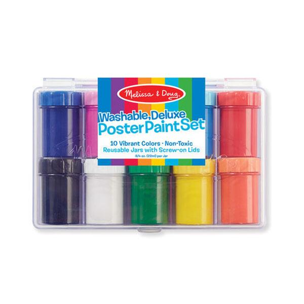 Deluxe Poster Paint Set (10 bottles)