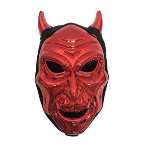 Devil mask with Hood Dress Up Not specified