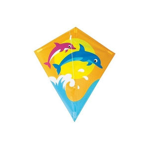 Diamond Kite Single Line Dolphin Toys Not specified