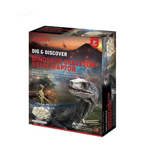 Dig and Discover Velociraptor Toys Jeanny