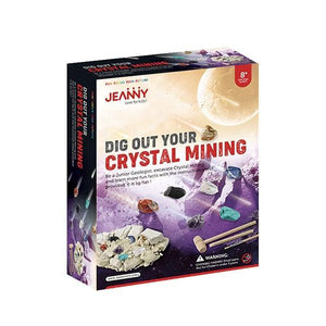 Dig Out Your Crystal Mining Toys Jeanny